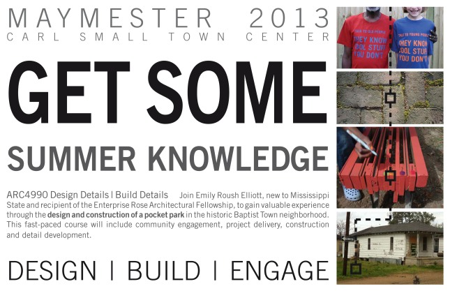 maymester poster blog