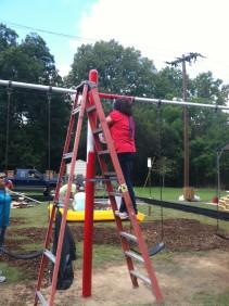 painting swings