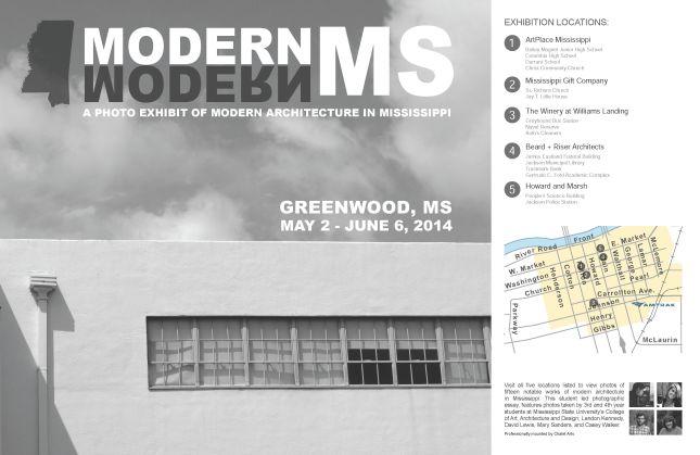 MODERN MS poster